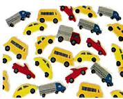 FOAM TRANSPORT STICKERS 100